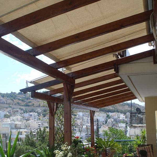 Πέργκολες - Στις πέργκολες κύριο μέλημα μας είναι η γερή κατασκευή αλλά δίνουμε βάρος και στην εμφάνιση.